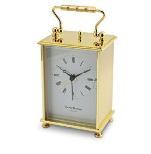 Quartz Carriage Alarm Clock. Q/177/A